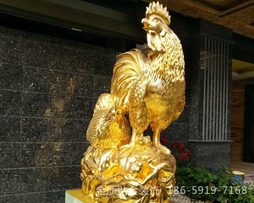 福州雕塑贴金