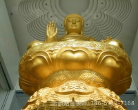 南平寺院佛像贴金