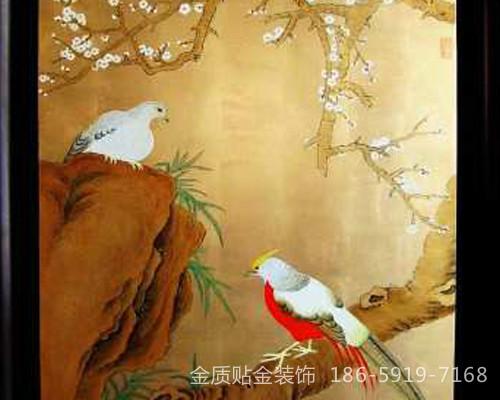 福州金箔画